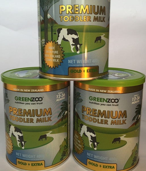 GreenZoo™ Premium Toddler Milk (Tin 1 * 400gm)