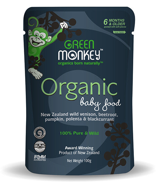 NZ Organic Baby Food Wild Venison - Not Available Online