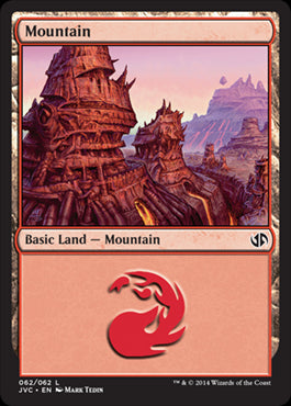 Mountain - Duel Decks Anthology, Jace vs. Chandra