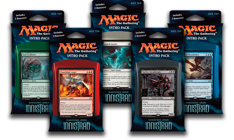 Shadows over Innistrad - Set of 5 Intro Packs