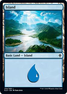 Island - Throne of Eldraine