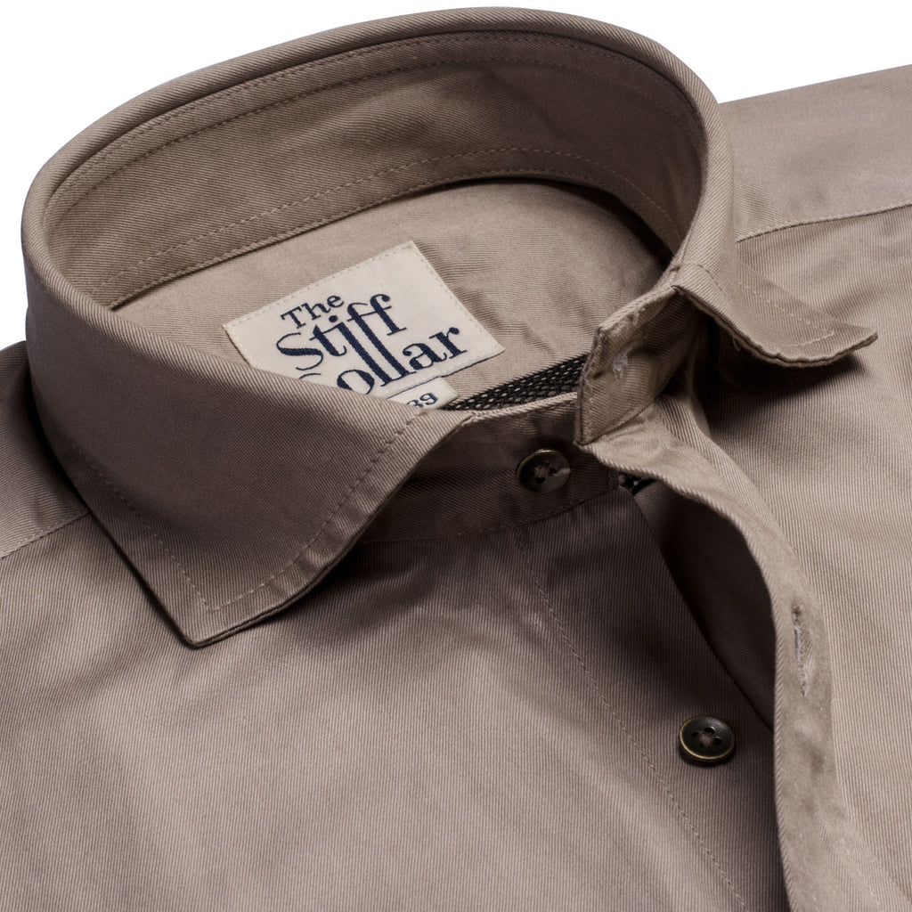Mountain Grey Outdoor Cotton Shirt
