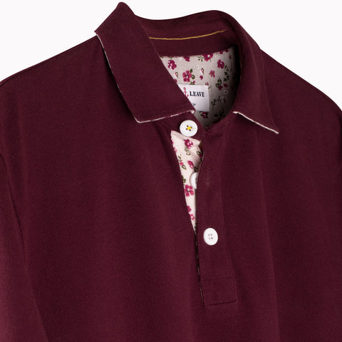 Luxurious Maroon Plaid Rayon Shirt