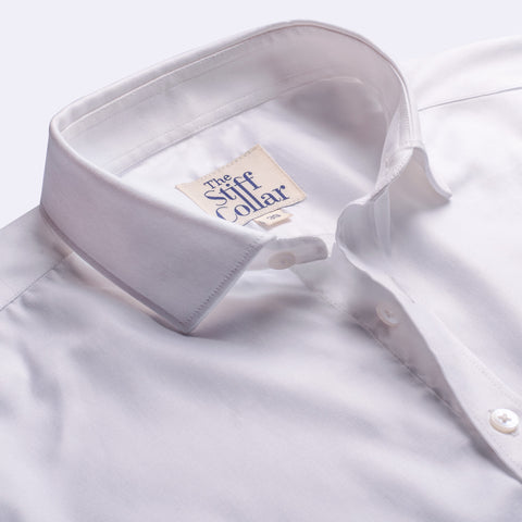 Midnight Blue Satin Regular Fit Shirt