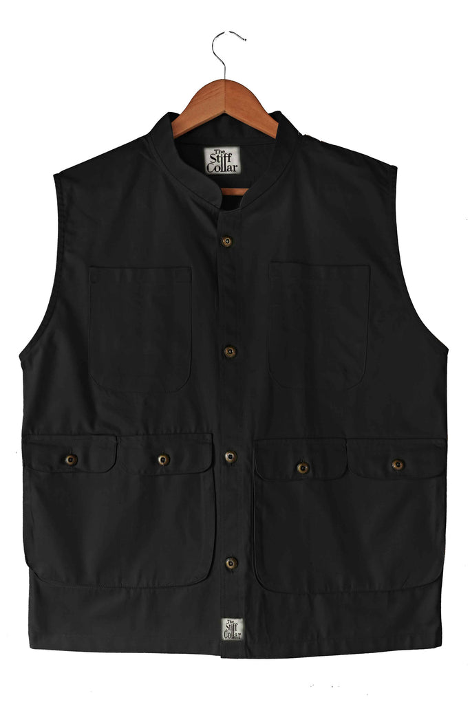 Black Outdoor Vest