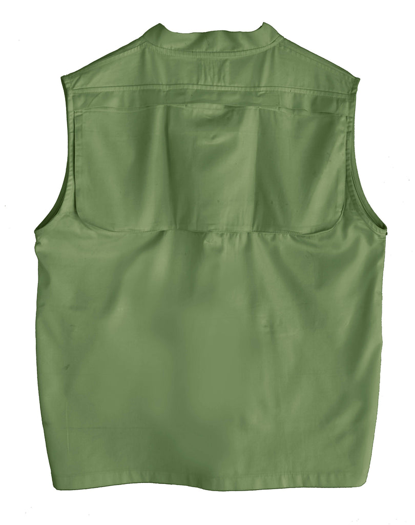 Crocodile Green Outdoor Vest