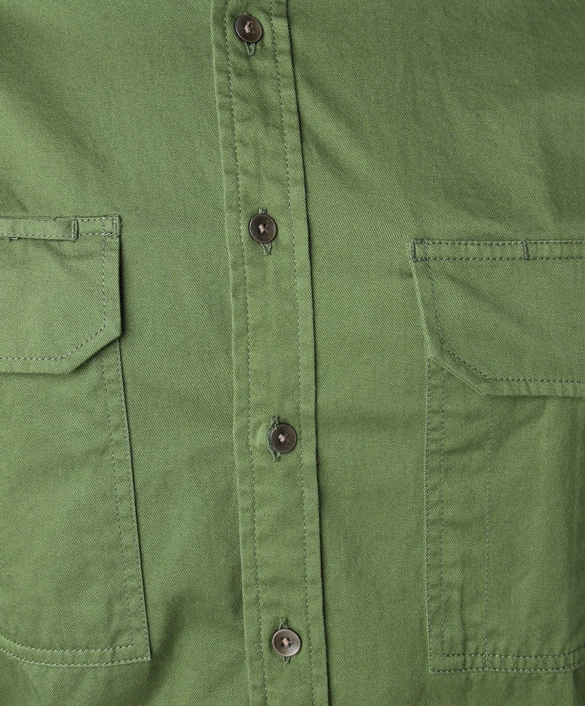 green outdoor shirt
