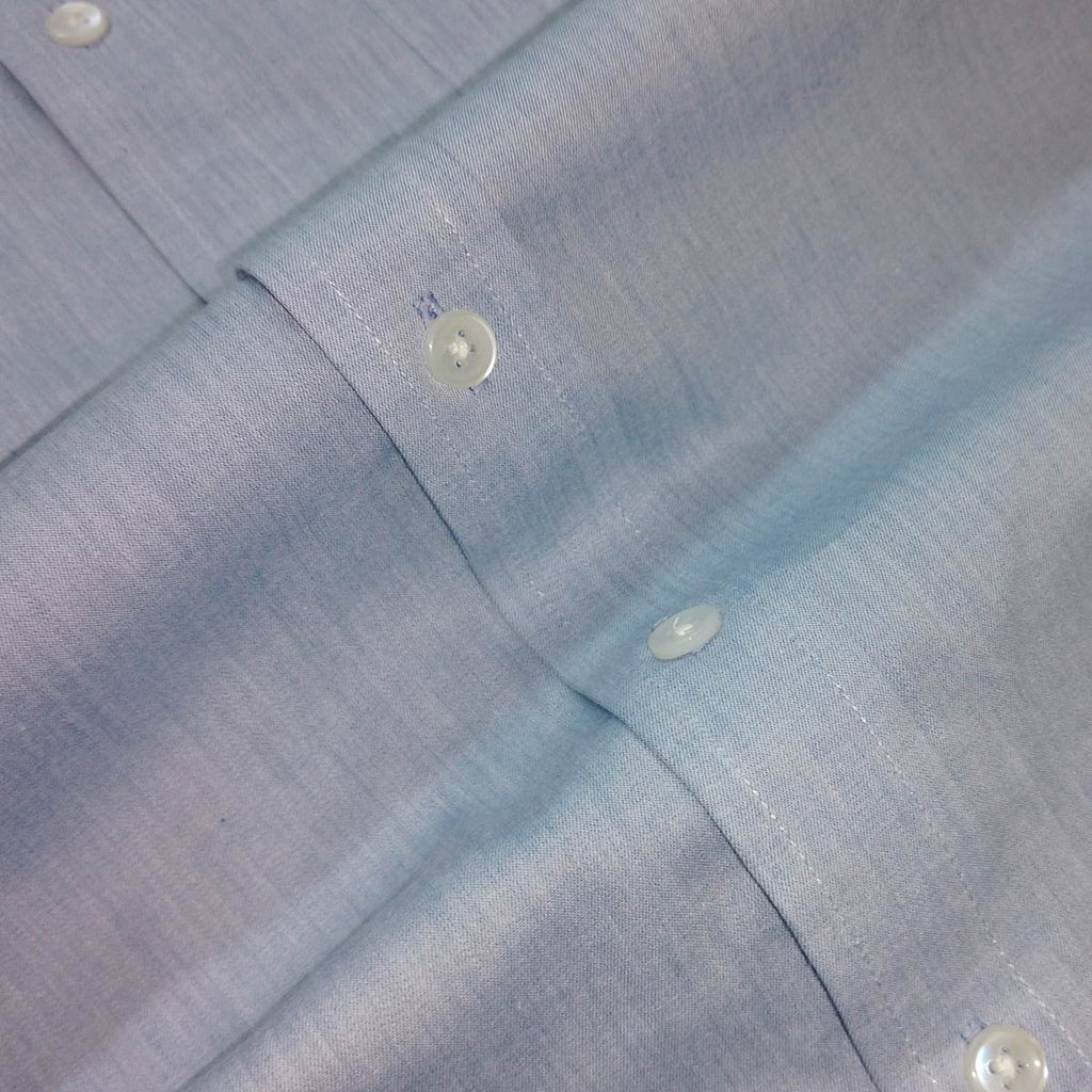 blue chambray cotton