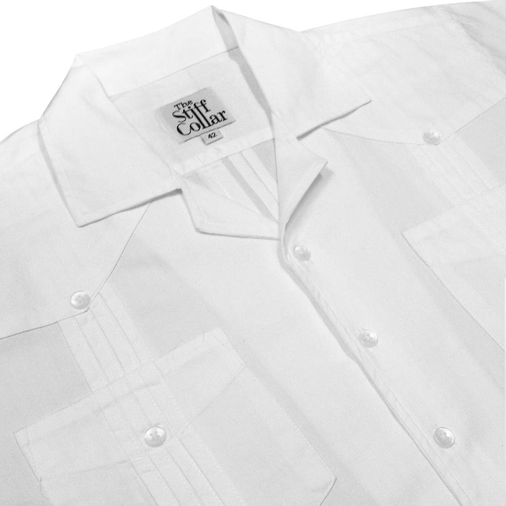 Pure White Cotton Shirt