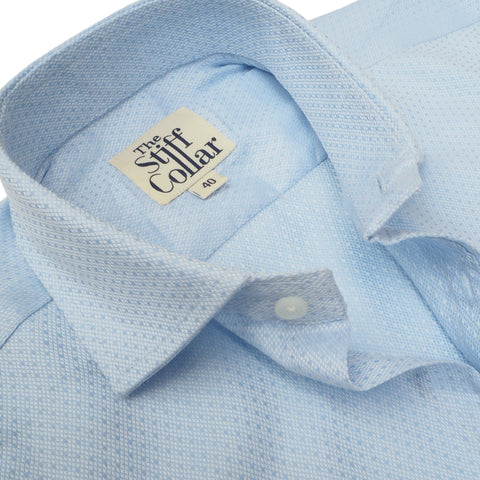Kutch White Twill and Blue Oxford Combo