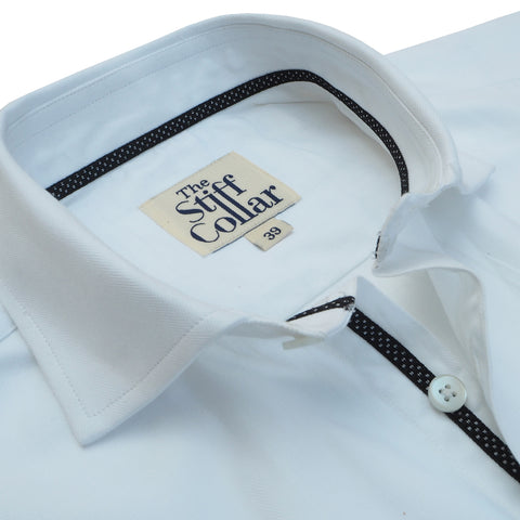 Kutch Blue Oxford with White Lining Shirt