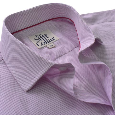 White Satin Regular Fit Cotton Shirt