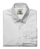 White Poplin Full Sleeves Button-Down