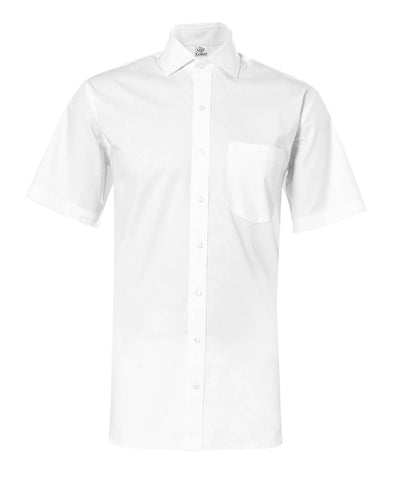 White Diamond Textured Giza Cotton Shirt