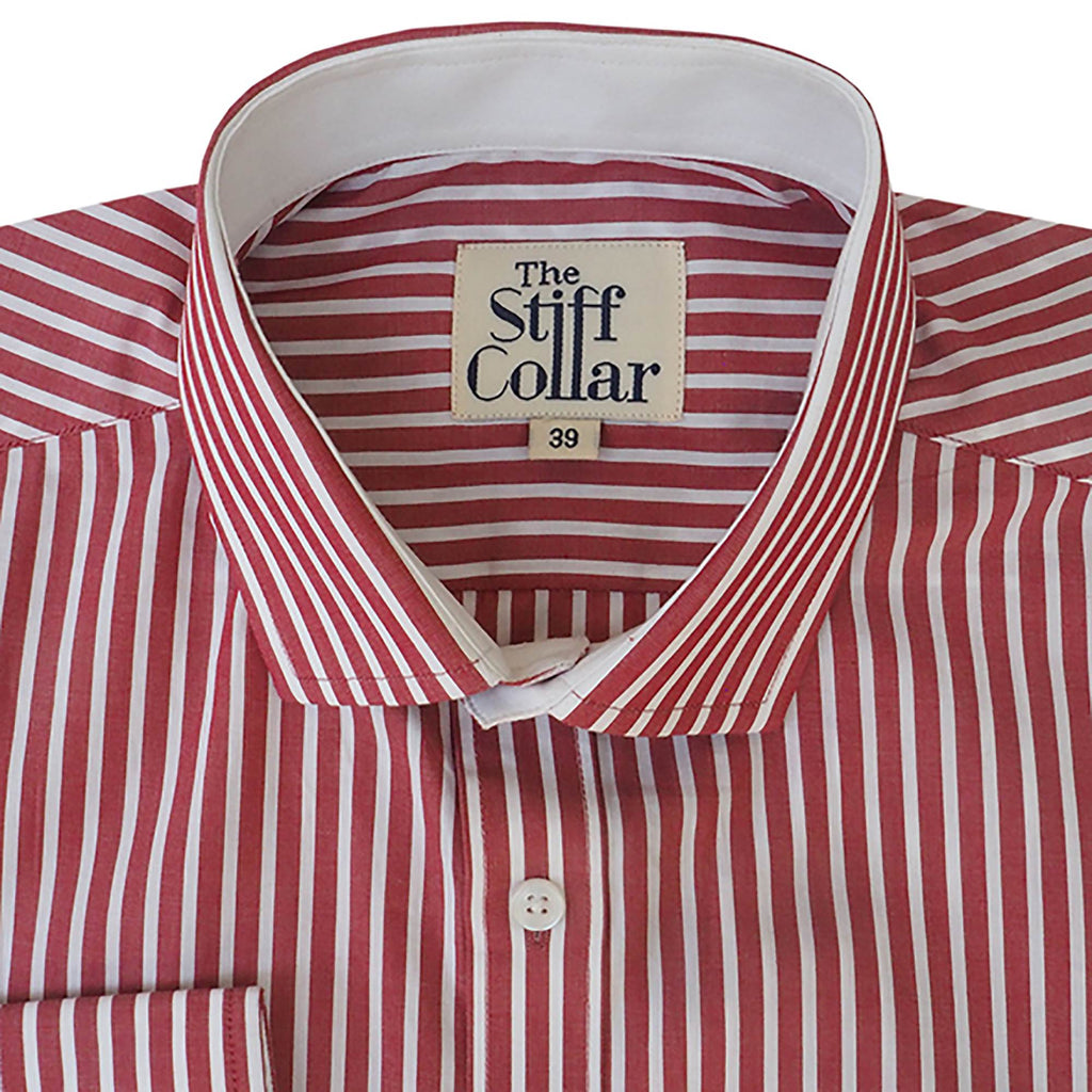 Elphinstone Red Stripes Business Shirt
