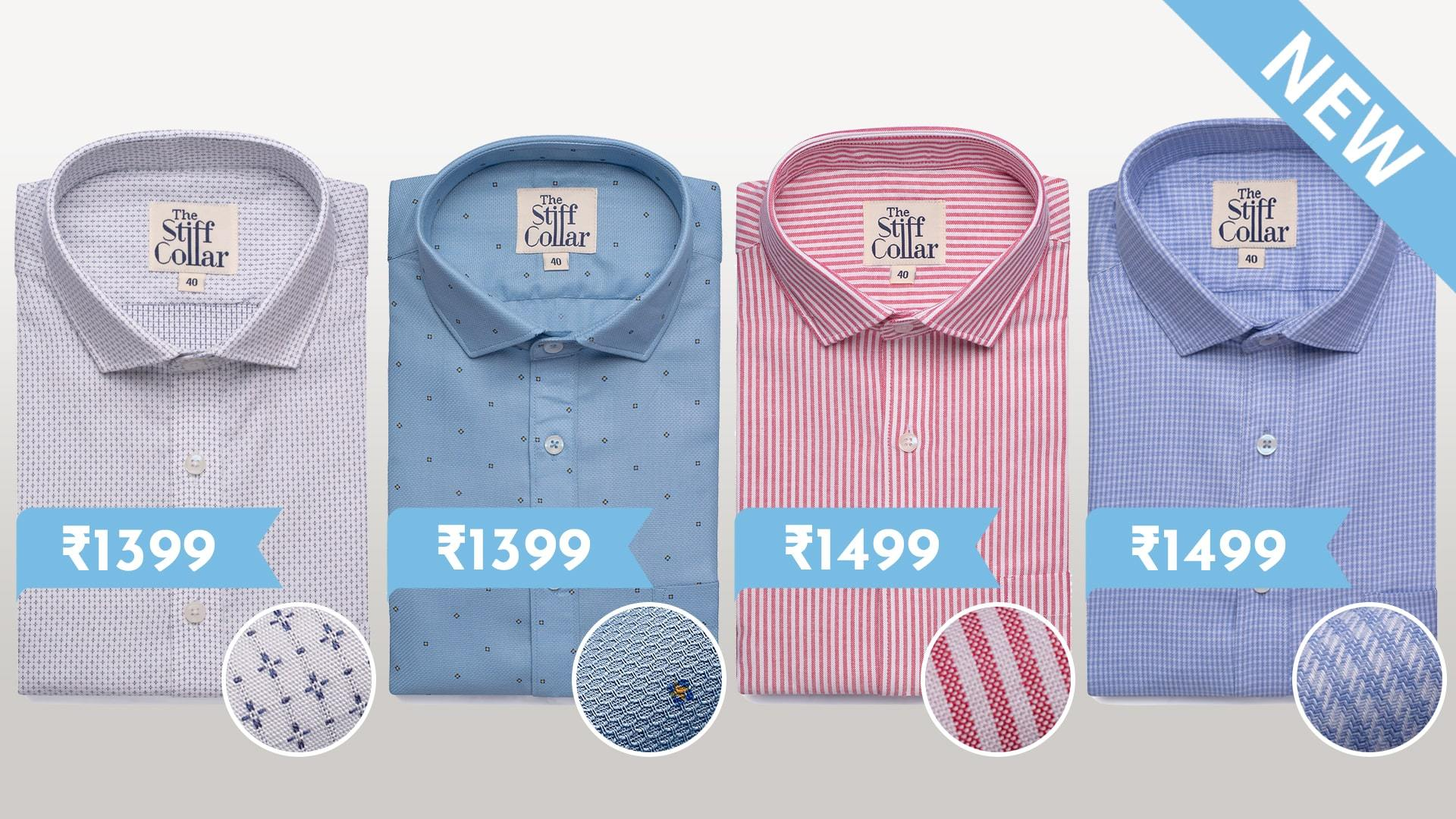 Designer Shirts Collection Buy Online