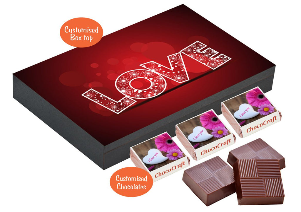 Best Gift For Girlfriend I Personalized Chocolate Gifts For