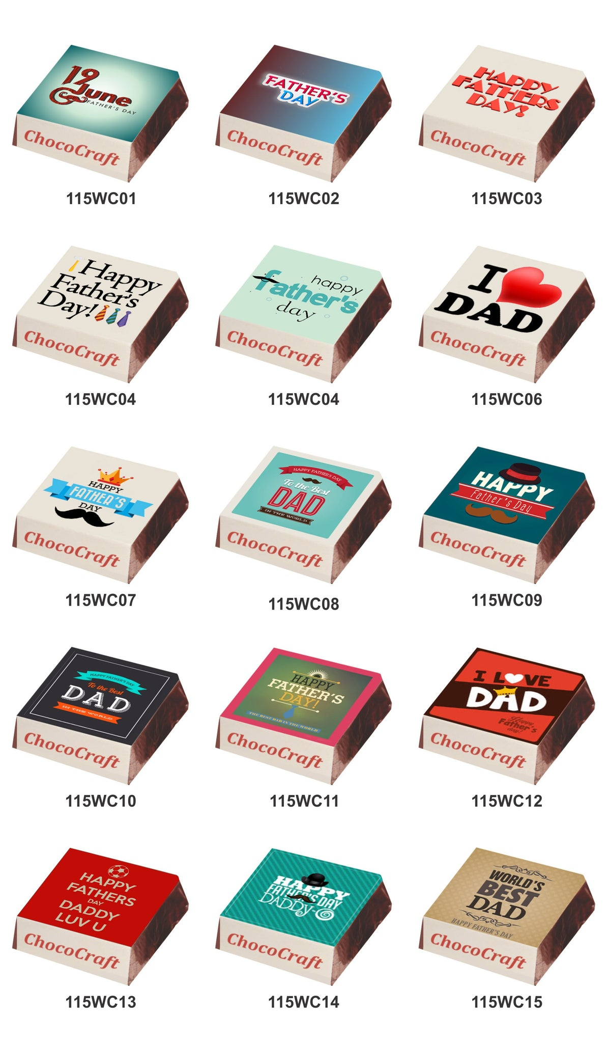 Fathers Day Chocolates