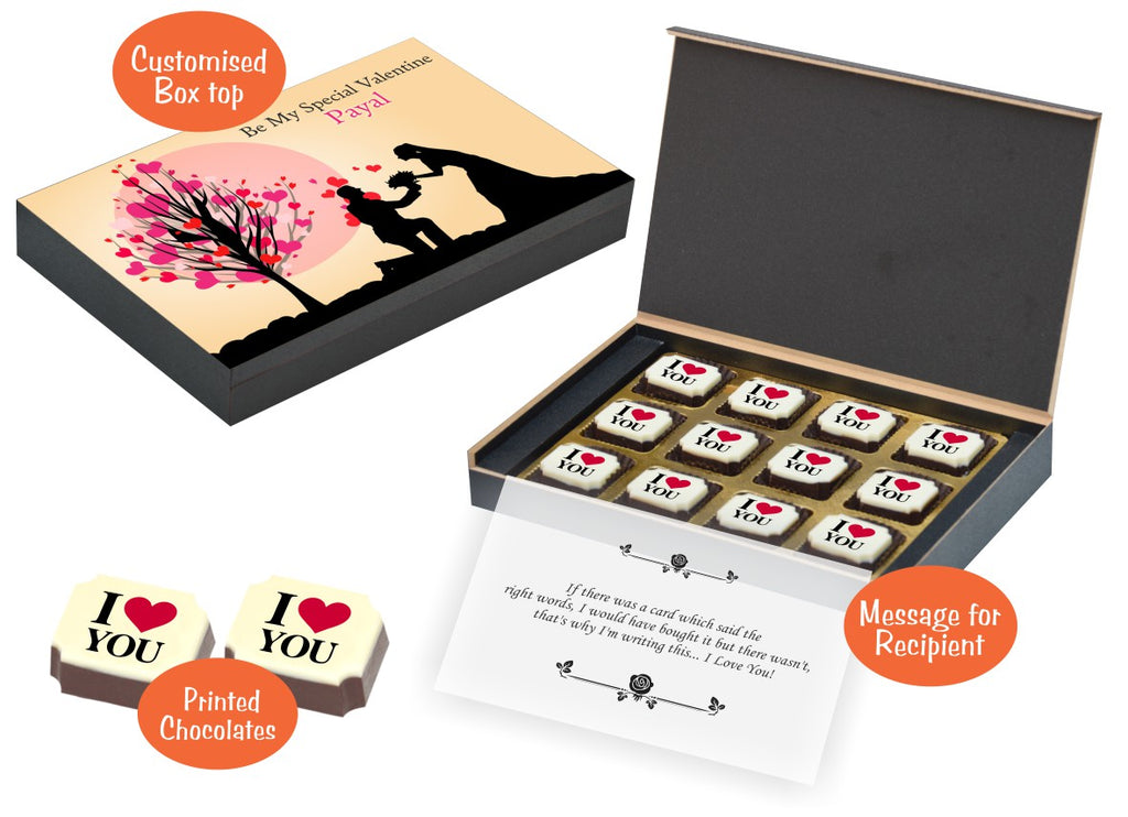 Gifts To Celebrate Your Love I Elegant Chocolate For