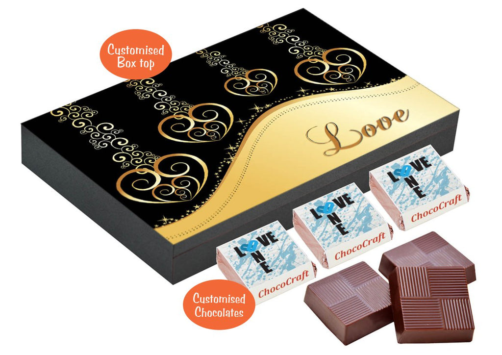 2bc9371196604 ChocoCraft s chocolate boxes are the best romantic gifts for your beloved  husband. The customization option brings in the special touch every  romantic gift ...