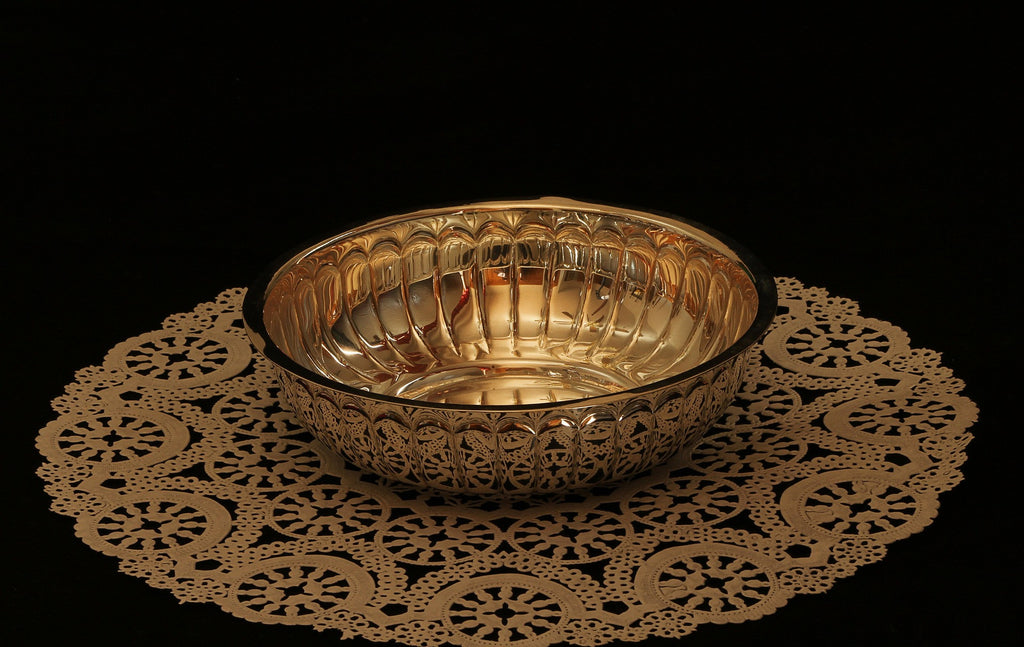 Diwali Gift Idea for employees Silver bowl