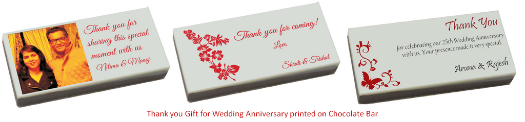 Customized Wedding Anniversary Gifts I Buy Online Chococraft