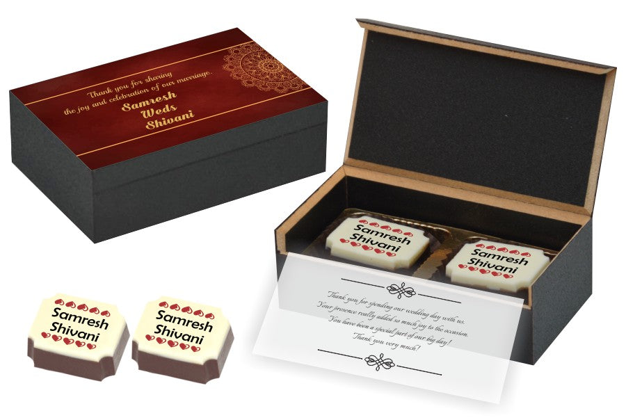 Wedding Return Gifts For Guests Chococraft