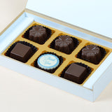 Anniversary Return Gifts - 6 Chocolate Box - Single Printed Chocolates (10 Boxes)