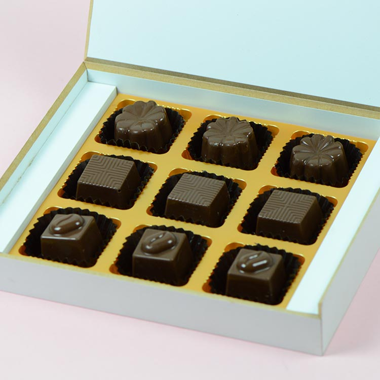 Anniversary Return Gifts - 9 Chocolate Box - Assorted Chocolates (Minimum 10 Boxes)