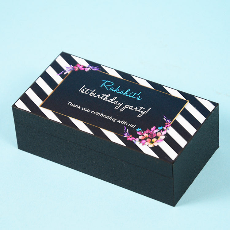 1st Birthday Return Gifts - 2 Chocolate Box - Assorted Chocolates (Minimum 10 Boxes)