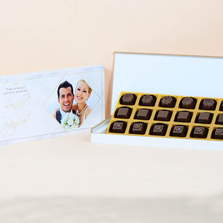 Anniversary Return Gifts - 18 Chocolate Box - Assorted Chocolates (Sample)
