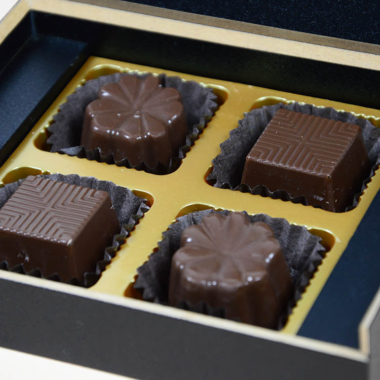 1st Birthday Return Gifts - 4 Chocolate Box - Assorted Chocolates (10 Boxes)