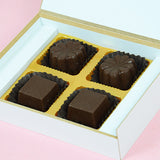 Birthday Return Gifts - 4 Chocolate Box - Assorted Chocolates (10 Boxes)