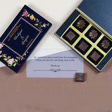 Anniversary Return Gifts - 6 Chocolate Box - Assorted Chocolates (10 Boxes)