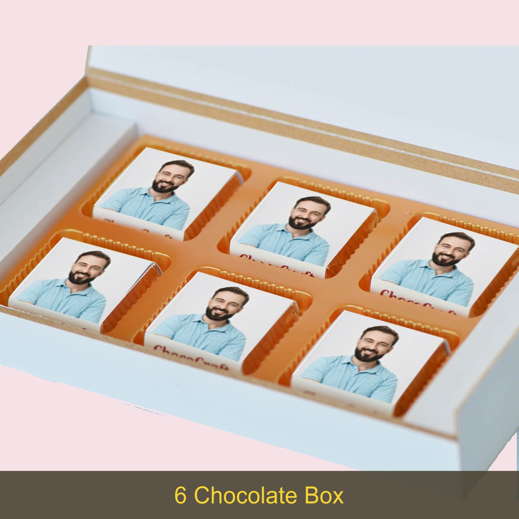 Personalized Eid Gift Box with Wrapped Chocolates
