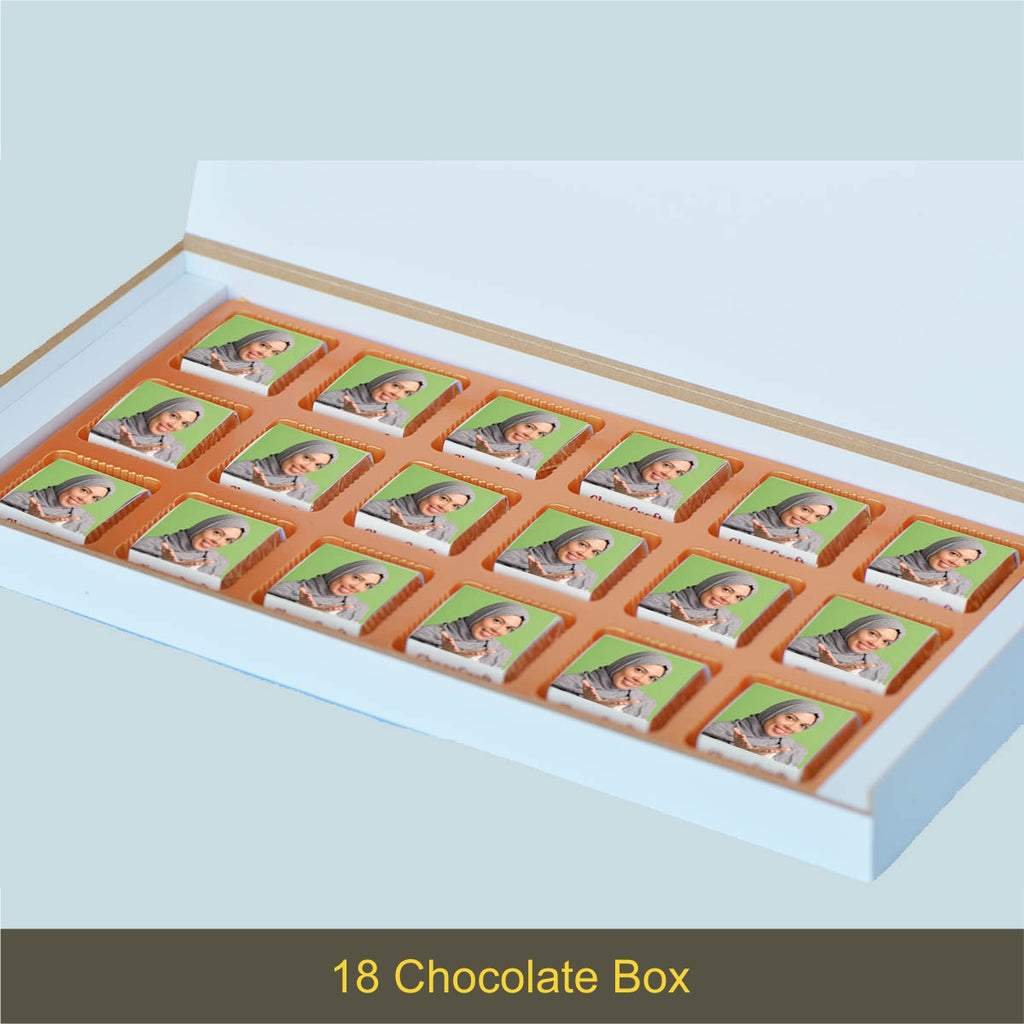Special Eid Gift Box with Wrapped Chocolates
