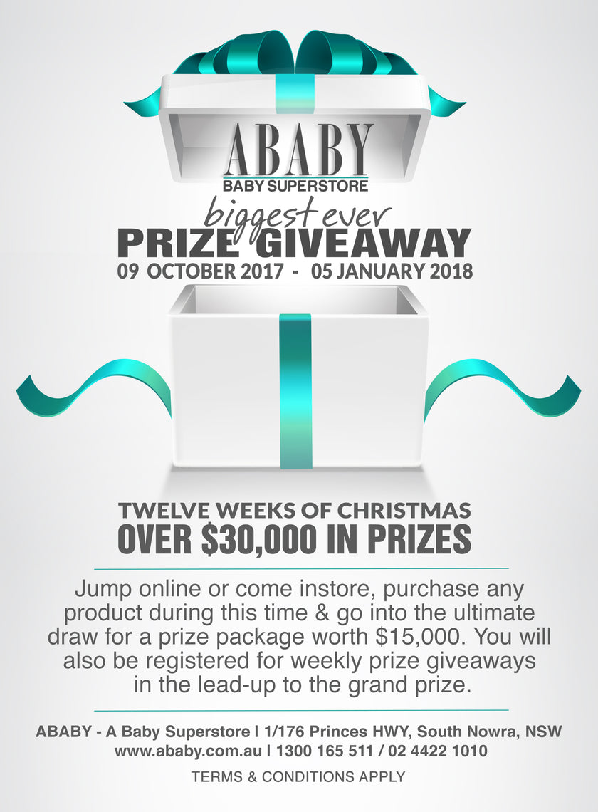 Ababy 12 Weeks of Christmas Competition Terms & Conditions