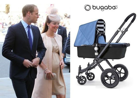 Kate Middleton and Prince William own a Bugaboo Buffalo