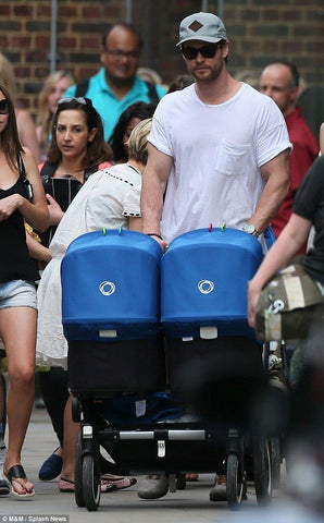 Aussie superstar Chris Hemsworth Bugaboo