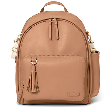 Skip*Hop Greenwich Simply Chic Backpack : Caramel