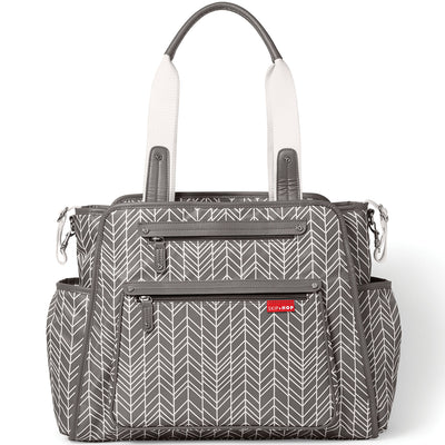 Skip*Hop Grand Central Diaper Backpack : Grey Feather