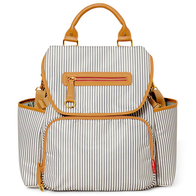 Skip*Hop Grand Central Diaper Backpack : French Stripe
