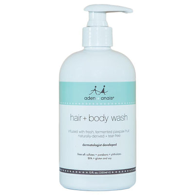 Ababy-ababy.com.au-Aden+Anais Hair & Body Wash 355ml-Bath & Health-Aden+Anais-Ababy