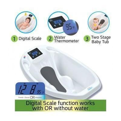Ababy-ababy.com.au-AquaScale Digital Baby Scale & Tub-Bath & Health-Roger Armstrong-Ababy