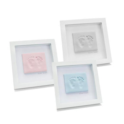 Ababy-ababy.com.au-Baby Ink Double Frame With Clay Impression Kit-Gifts-Baby Ink-Ababy