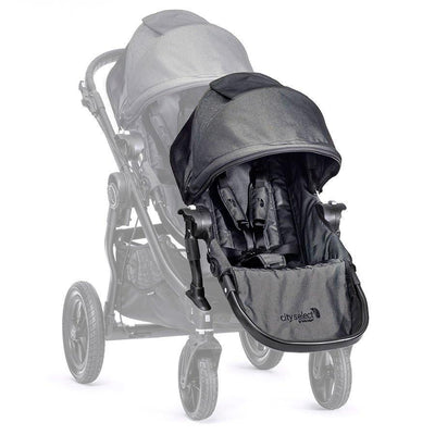 Ababy-ababy.com.au-Baby Jogger City Select Second Seat ( for City Select Pram Stroller )-Prams & Strollers-Baby Jogger-Charcoal-Ababy