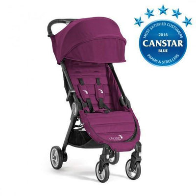 Ababy-ababy.com.au-Baby Jogger City Tour Stroller Pram-Prams & Strollers-Baby Jogger-Violet-Ababy