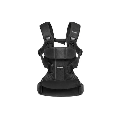 Ababy-ababy.com.au-BabyBjorn Baby Carrier One Air-Out & About-BabyBjorn-Black Mesh-Ababy