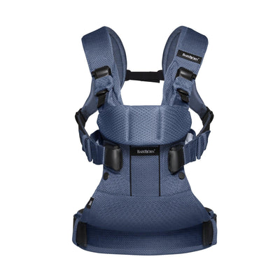 Ababy-ababy.com.au-BabyBjorn Baby Carrier One Air-Out & About-BabyBjorn-Dark Blue Mesh-Ababy