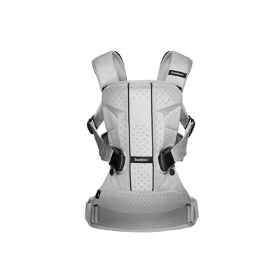 Ababy-ababy.com.au-BabyBjorn Baby Carrier One Air-Out & About-BabyBjorn-Silver Mesh-Ababy